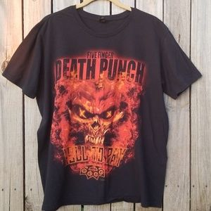 Other - Graphic Tee Five Finger Death Punch T-Shirt FFDP